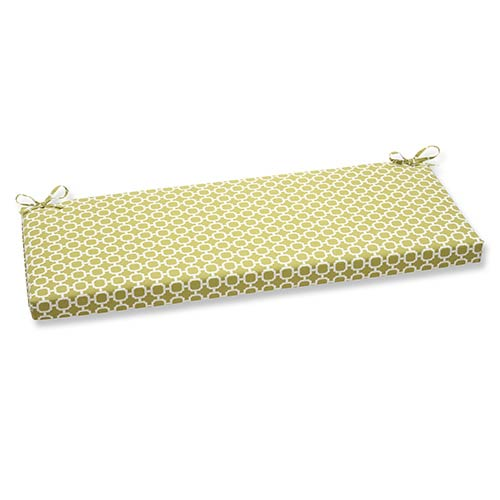Pillow Perfect Hockley Green Outdoor Bench Cushion