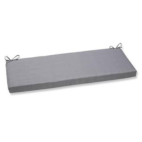 Rave Graphite Outdoor Bench Cushion