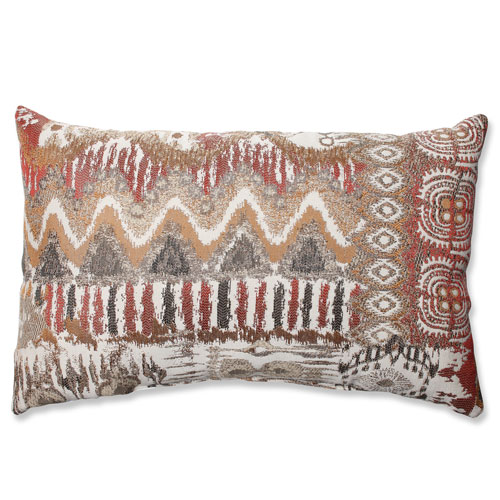 Pillow Perfect Medley Bronze Rectangular Throw Pillow