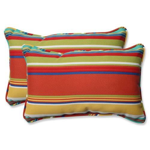 Westport Spring Rectangular Outdoor Throw Pillow, Set of 2