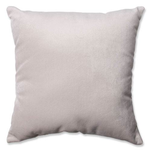 Pillow Perfect Belvedere Beach Knit Velvet 16.5-Inch Throw Pillow