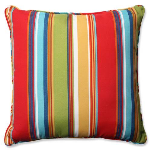 Westport Garden Multicolor 25-Inch Outdoor Floor Pillow