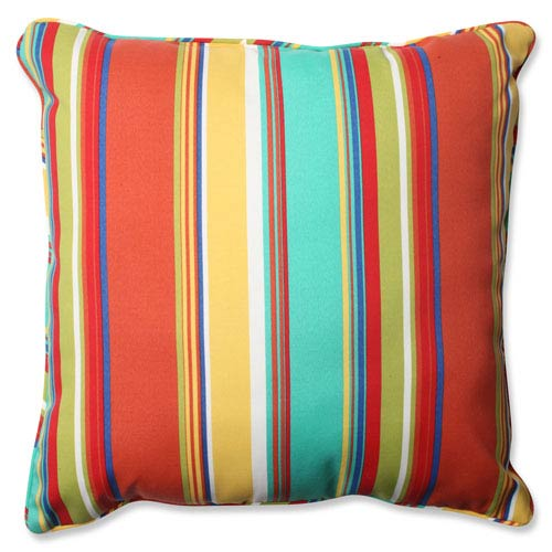 Westport Spring Multicolor 25-Inch Outdoor Floor Pillow