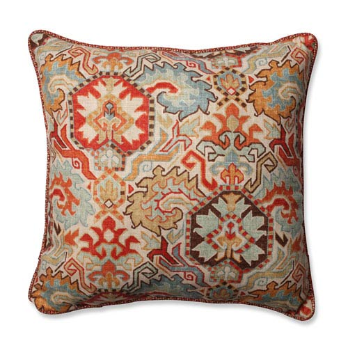 Pillow Perfect Madrid Multicolor 18 Inch Throw