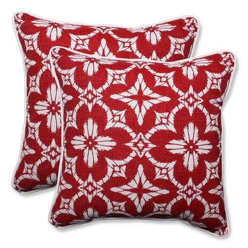 Outdoor Aspidoras Apple 18.5-inch Throw Pillow, Set of 2