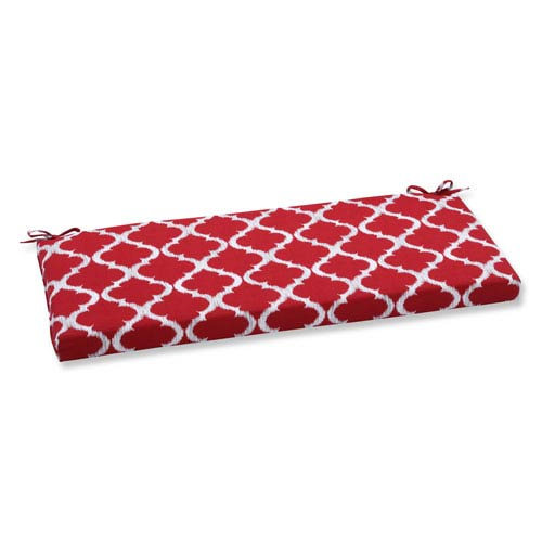 Outdoor Kobette Red Bench Cushion