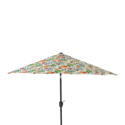 Outdoor / Indoor Lensing Jungle 9-foot Patio Market Umbrella