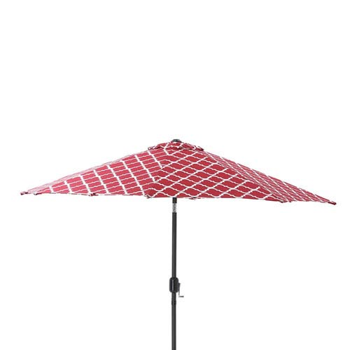 Outdoor / Indoor Kobette Red 9-foot Patio Market Umbrella
