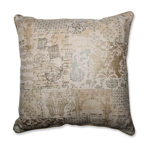 Documented Vermeil 25-inch Floor Pillow