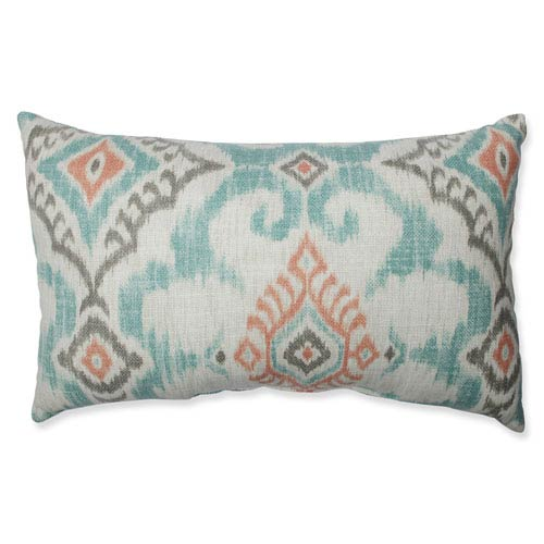 Kantha Surf Rectangular Throw Pillow