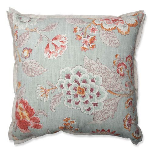 Room With A View Cerulean 18-inch Throw Pillow