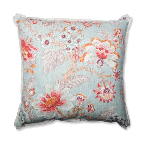 Room With A View Cerulean 24.5-inch Floor Pillow