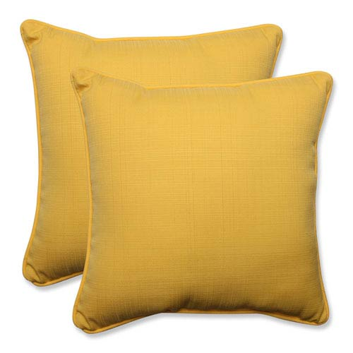 Outdoor Forsyth Soleil 18.5-inch Throw Pillow, Set of 2