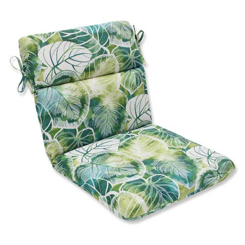 Outdoor Key Cove Lagoon Rounded Corners Chair Cushion