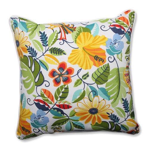 Outdoor Lensing Garden 25-inch Floor Pillow