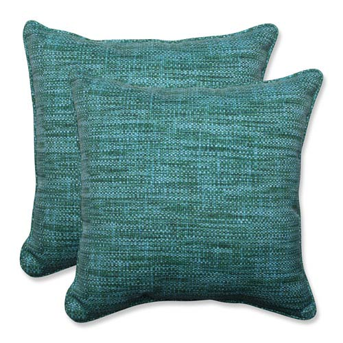 Outdoor Remi Lagoon 18.5-inch Throw Pillow, Set of 2
