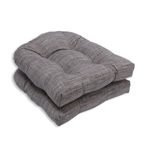 Outdoor Remi Patina Wicker Seat Cushion, Set of 2