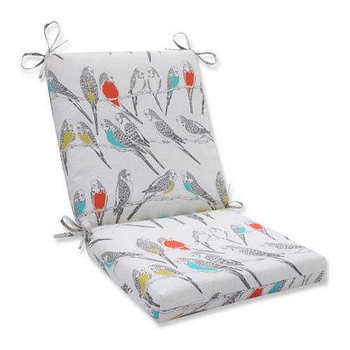 Outdoor Retweet Mango Squared Corners Chair Cushion