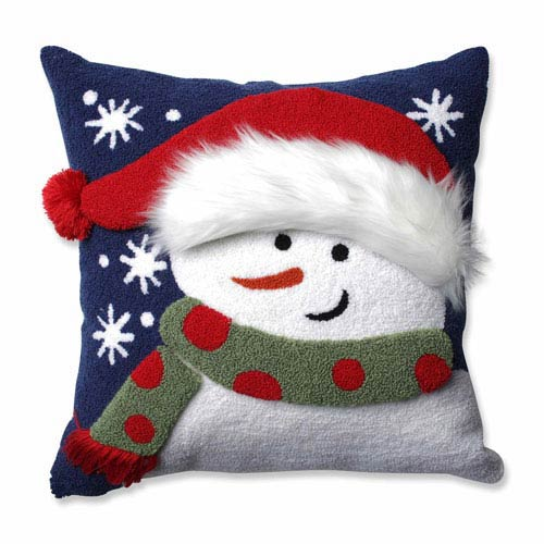 Frosty Multi 16.5-Inch Throw Pillow