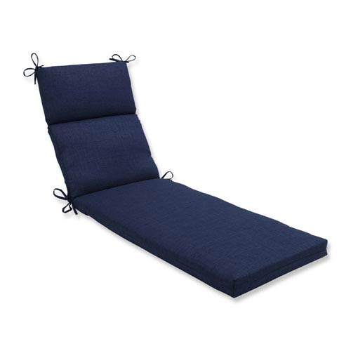 Outdoor / Indoor Rave Indigo Chaise Lounge Cushion