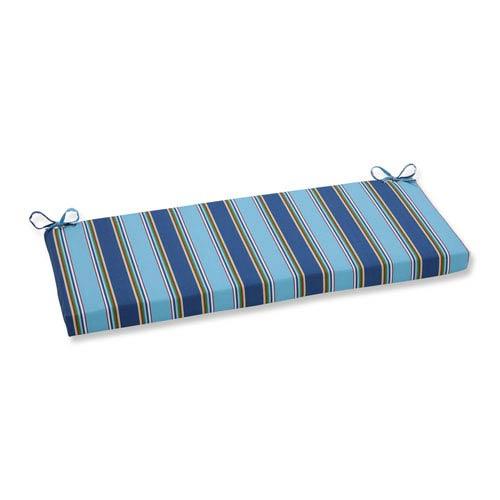 Pillow Perfect Outdoor / Indoor Bonfire Regata Bench Cushion