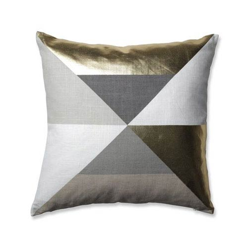 Pillow Perfect Avalon Gold 18-inch Throw Pillow
