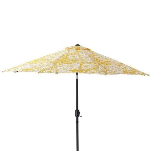 Addie Egg Yolk 9-foot Patio Market Umbrella