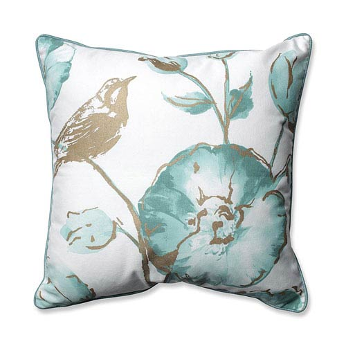Pillow Perfect Olivia Mist 16.5-inch Throw Pillow