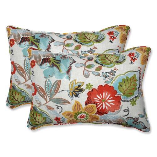 Poppy Weather Resistant Pillow Bellacor