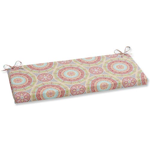 Pillow Perfect Outdoor / Indoor Delancey Jubilee Bench Cushion