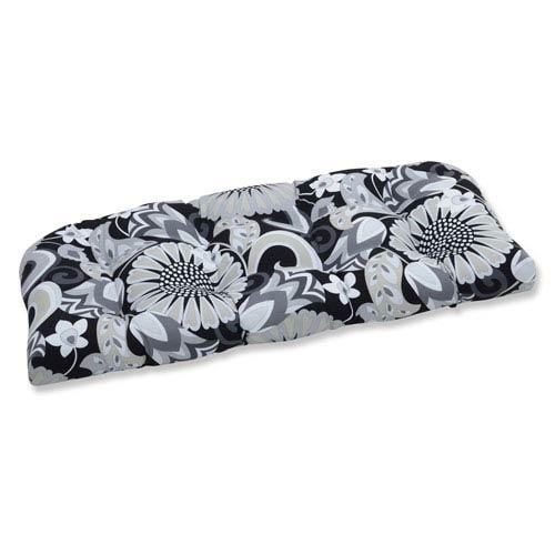 Outdoor / Indoor Sophia Graphite Wicker Loveseat Cushion