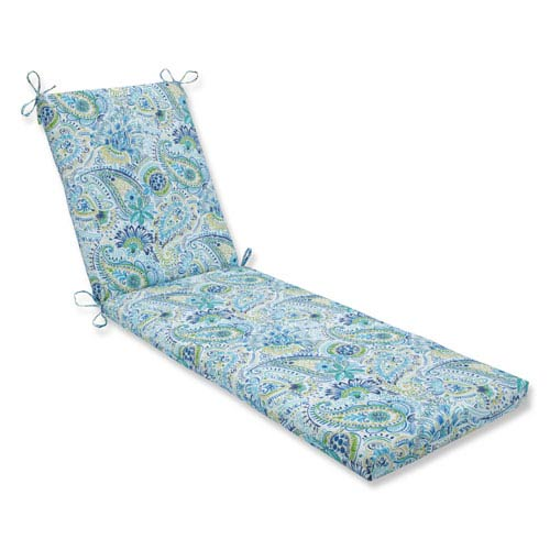 Outdoor / Indoor Gilford Baltic Chaise Lounge Cushion 80x23x3