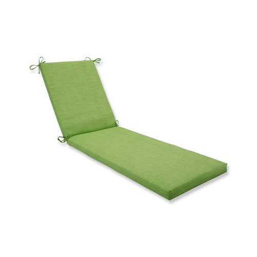 Baja Linen Lime Chaise Lounge Cushion