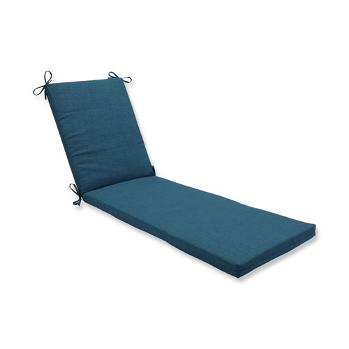 Rave Teal Chaise Lounge Cushion