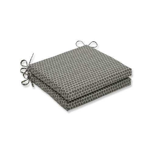 Seeing Spots Sterling Squared Corners Seat Cushion, Set of 2