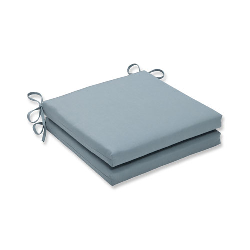 Canvas Spa Squared Corners Seat Cushion, Set of 2