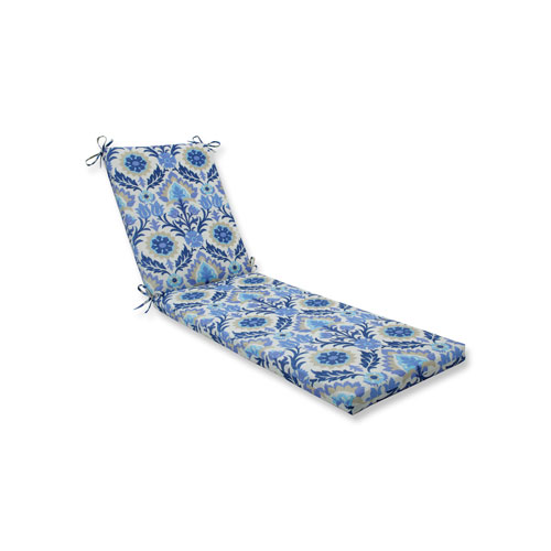 Santa Maria Azure Chaise Lounge Cushion