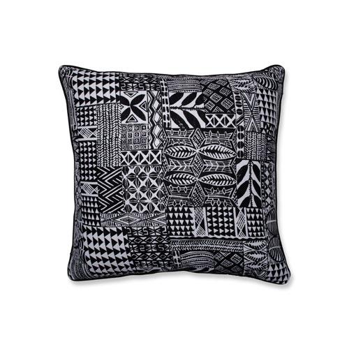Pillow Perfect Indoor Imani Jet Black 25-inch Floor Pillow