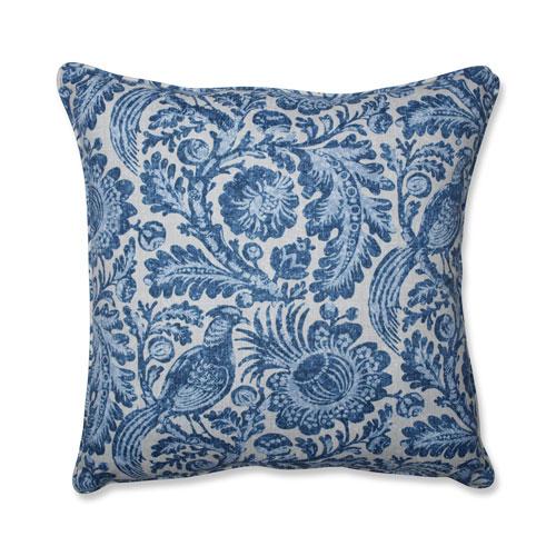 Tucker Resist Azure Blue 25-Inch Floor Pillow
