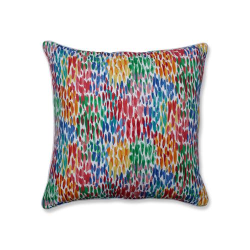 Make It Rain Zinnia Blue 25-Inch Floor Pillow