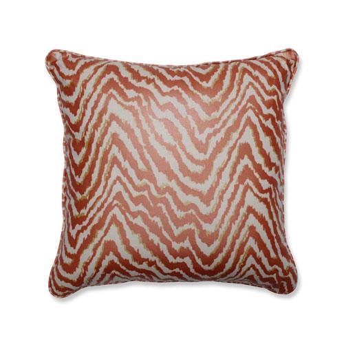 Indoor Sleek Spice 18-Inch Throw Pillow