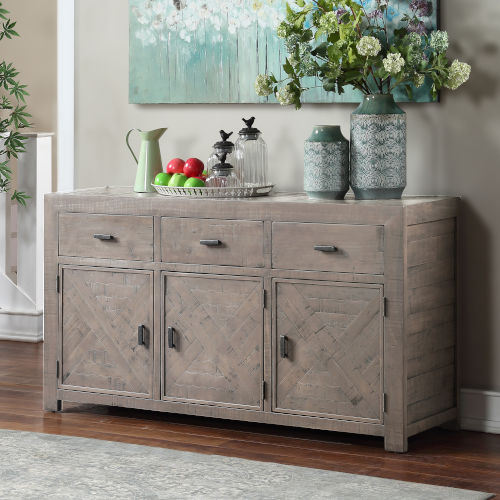 Auckland Weathered Gray Server
