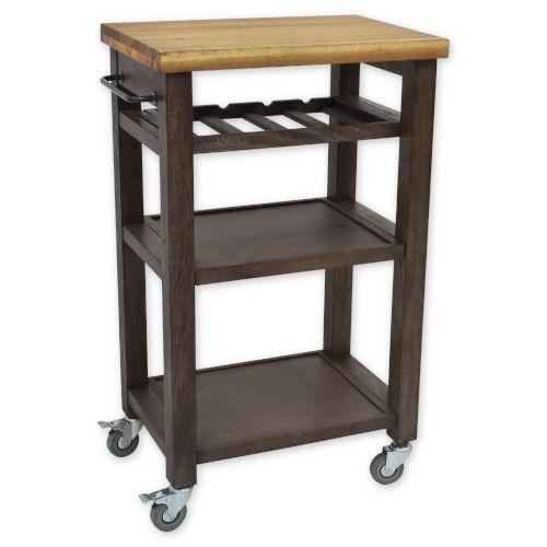 Belden Gray Kitchen Cart