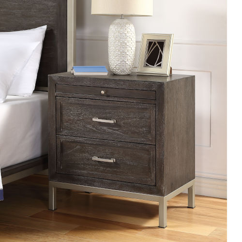 Broomfield Walnut Nightstand