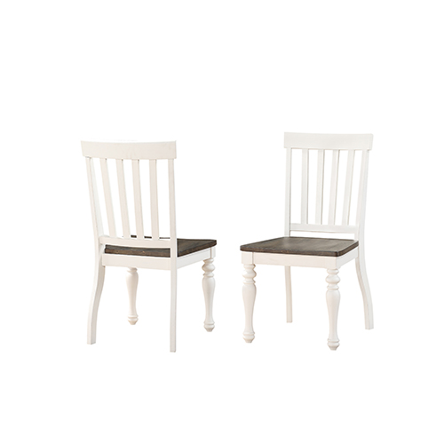 Joanna Ivory and Charcoal Two Tone Side Chair