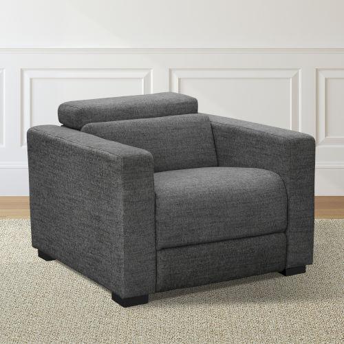 Zara Dark Charcoal Power Reclining Chair