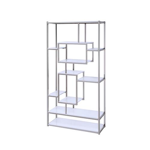 Alize White Bookcase