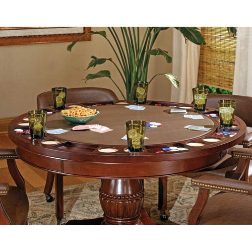 Steve Silver Company Tournament 50 Inch Round Table