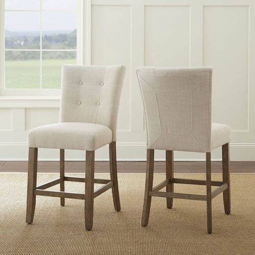 Steve Silver Company Debby Counter Chair Beige
