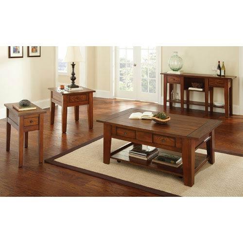 Desoto Chair Side End Table in Oak